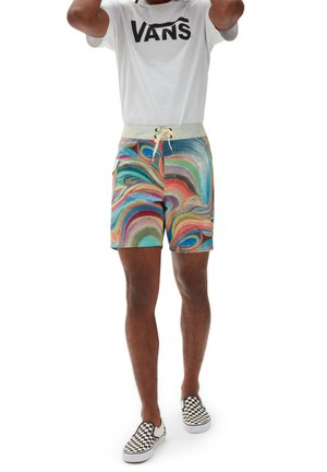 MN VANS X CHRIS JOHANSON BOARDSHORT - Swimming shorts - johanson swirl