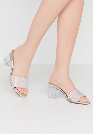 LAMBA - Heeled mules - bling