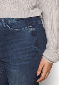 JUNAROSE - by VERO MODA - JRONEABBELINE - Slim fit jeans - dark blue denim - 3