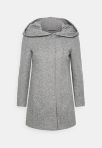 Vero Moda Petite - VMVERODONA JACKET  - Kort kåpe / frakk - light grey melange - 3