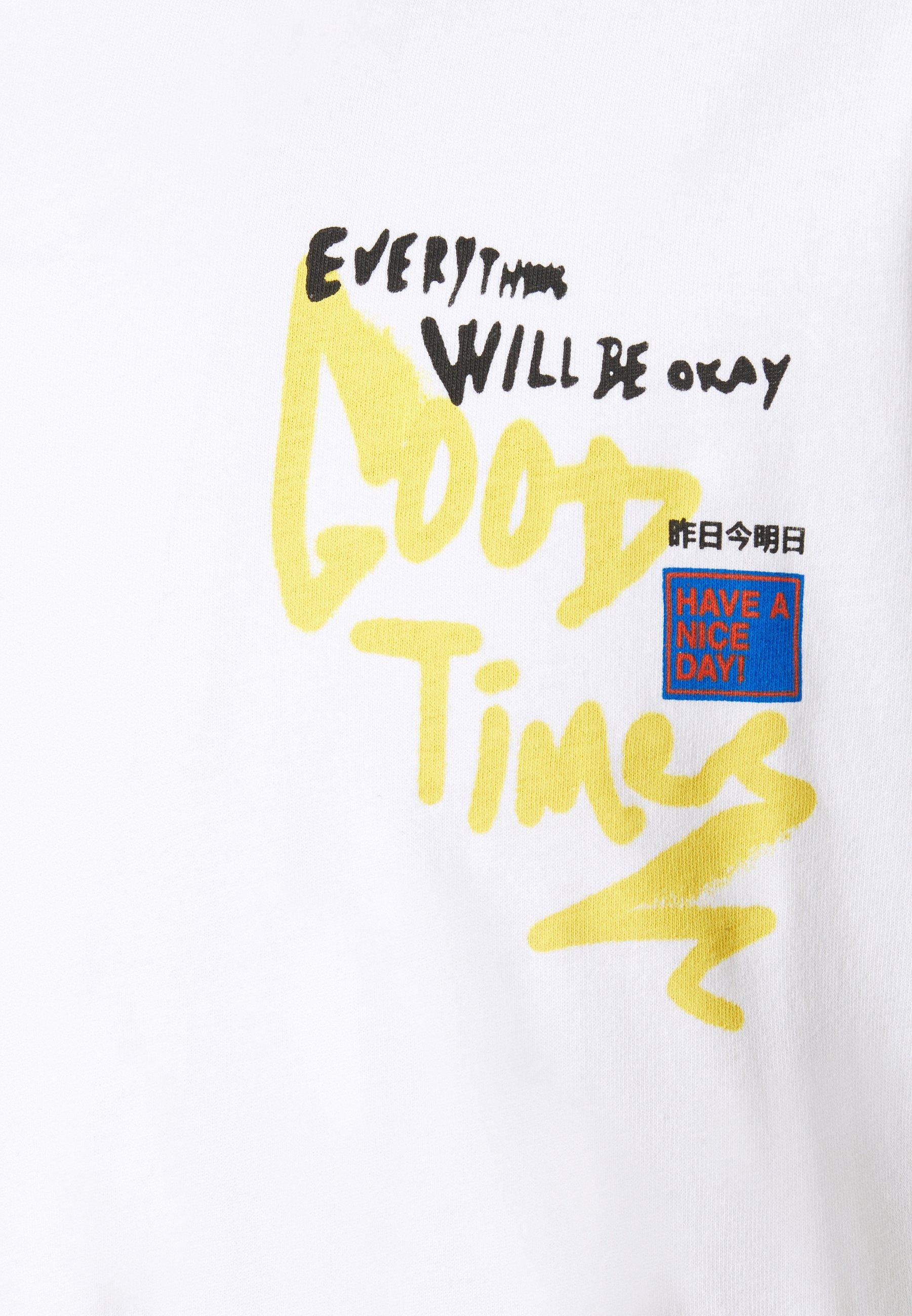 Jack & Jones JORURBANS TEE CREW NECK - Print T-shirt - white MzBAp
