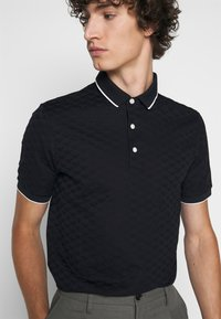 Emporio Armani - Polo shirt - dark blue - 5