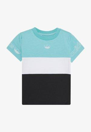 PANEL TEE - Printtipaita - turquoise