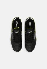 Joma - MAXIMA - Astro turf trainers - black/yellow - 3