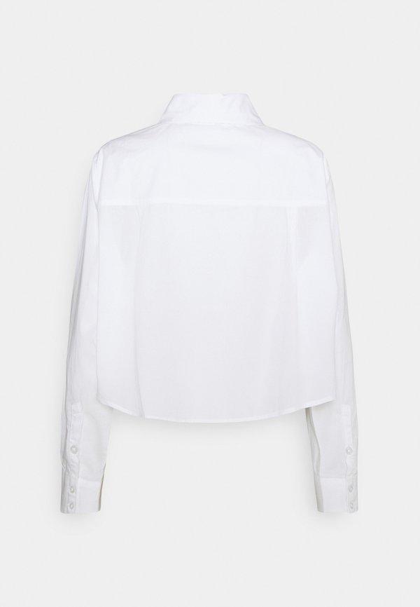 Weekday GWEN - Koszula - white/biały VCHY