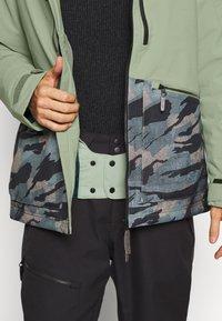 O'Neill - TEXTURE JACKET - Snowboard jacket - light green - 4