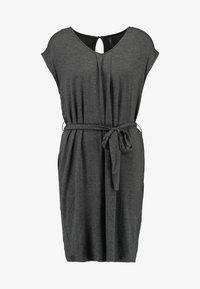 YAS - YASTAMMY DRESS - Sukienka z dżerseju - dark grey melange - 4
