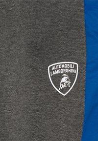 Automobili Lamborghini Kidswear - PANTS WITH CONTRAST INSERTS - Tracksuit bottoms - grey estoque - 2