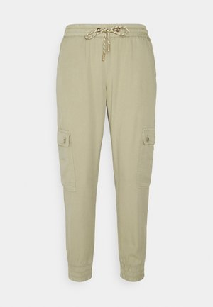CARGO PANTS - Cargo trousers - olive tree