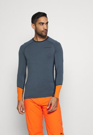 MAGIC CREW - T-shirt à manches longues - blue steel