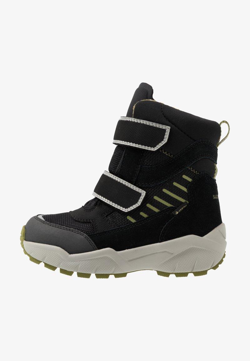 Superfit - CULUSUK - Zimní obuv - schwarz/grün