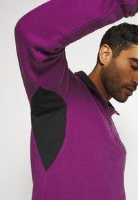 Columbia - BUGA QUARTER ZIP - Sweatshirt - plum/black - 3