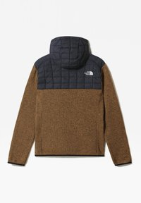 The North Face - M THERMOBALL GORDON LYONS HOODIE - Outdoorjacka - aviator navy/utility brwn - 1