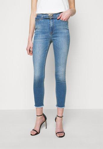 SUSAN SOFT STRETCH - Skinny džíny - blue denim