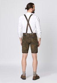 Stockerpoint - BEPPO - Shorts - brown/light brown - 2