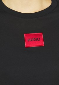 HUGO - THE SLIM TEE - T-Shirt print - black - 5