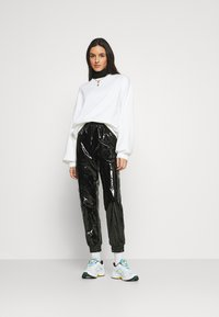 Sixth June - VINYL PANTS - Bukse - blac - 1