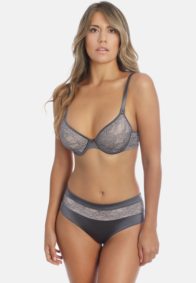 SPACER-BH MAGIC LACE - Underwired bra - dusty grey