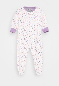 Nike Sportswear - DOT FOOTED COVERALL - Pijama - white - 0