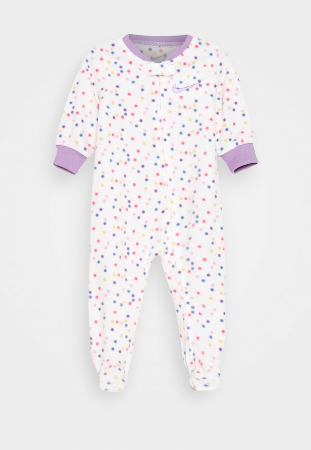 DOT FOOTED COVERALL - Pigiama - white