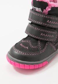Lurchi - JAUFEN TEX - Winter boots - grey/pink - 5