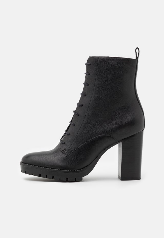 NORE - High heeled ankle boots - noir
