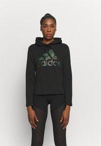 adidas Performance - CAMO - Hoodie - black - 0
