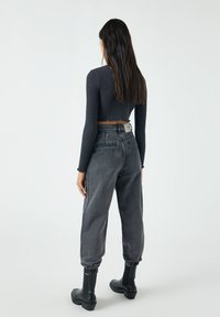 PULL&BEAR - Jeans baggy - mottled grey - 2