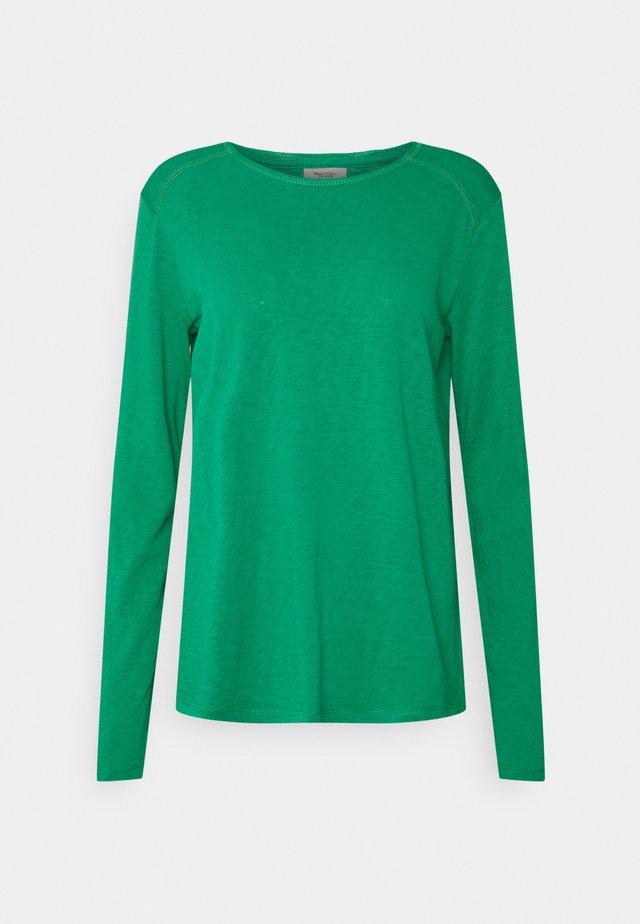 Camiseta de manga larga - smaragd greed