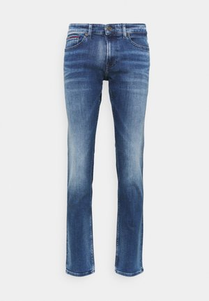 SCANTON SLIM - Jean slim - dynamic jacob mid blue stretch