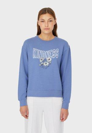 MIT PRINT  - Sweatshirt - blue