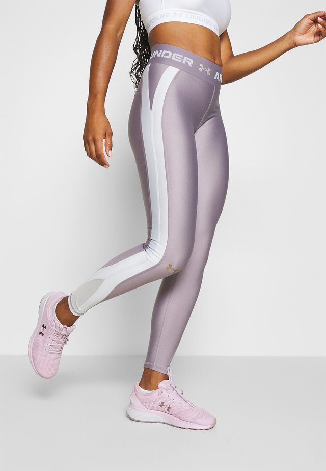 Tights - slate purple