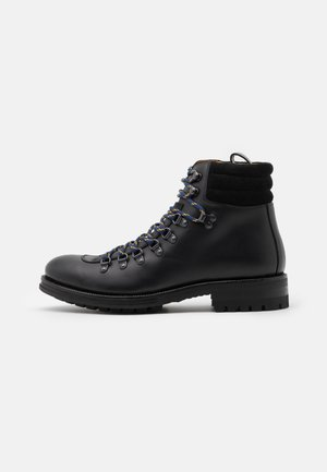 BIUNE - Lace-up ankle boots - black