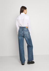 Gina Tricot - IDUN WIDE - Relaxed fit jeans - dark sea blue - 2