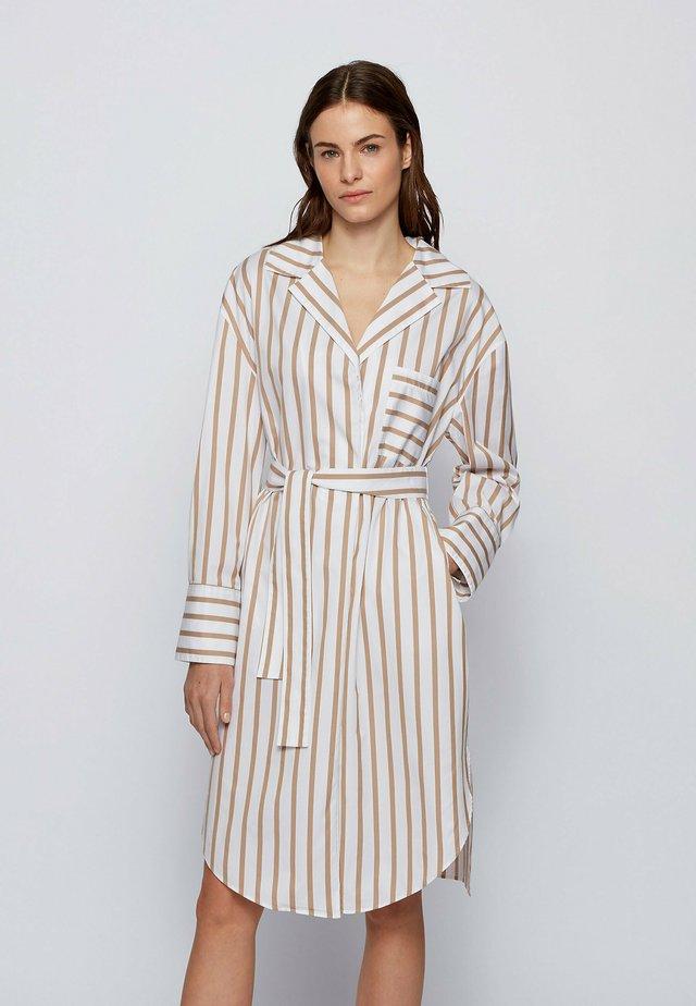 DISSO - Shirt dress - beige