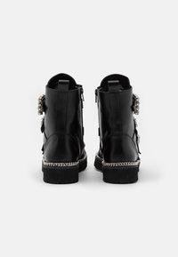 Dune London - PAGOLA - Cowboy/biker ankle boot - black - 2