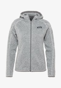 Patagonia - BETTER SWEATER HOODY - Fleece jacket - birch white - 4