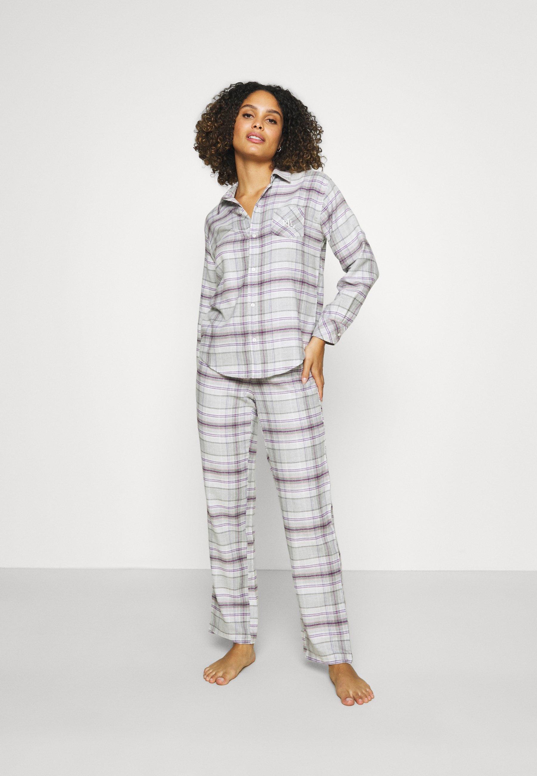 Damer BRUSHED  - Pyjamaser - grey