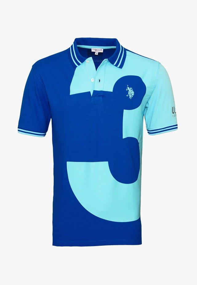 SHORTSLEEVE  - Polo - blau