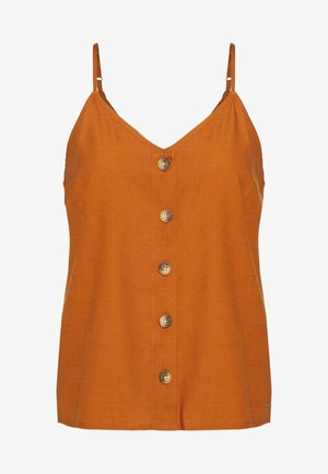Blus - mango brown