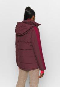 Burton - KEELAN - Snowboard jacket - dark red - 2