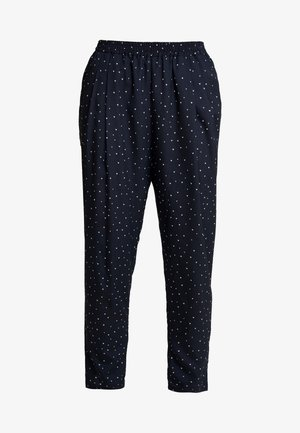 MENDI - Trousers - navy/cream