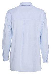 New Look Petite - FREDDIE STRIPE - Button-down blouse - blue - 1
