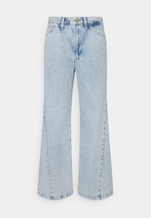 LE BAGGY PALAZZO - Jeans Relaxed Fit - whisper