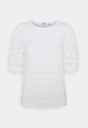 BYSANNY - Print T-shirt - off white