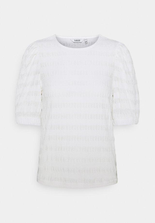 BYSANNY - Printtipaita - off white