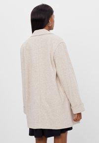 Bershka - Short coat - beige - 2