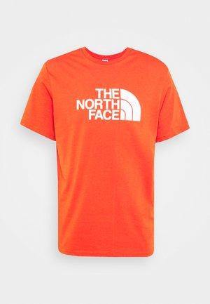 EASY TEE - Print T-shirt - burnt ochre