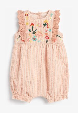 FLORAL EMBROIDERED - Jumpsuit - pink