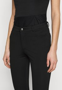 Even&Odd Tall - 5 pockets PUNTO trousers - Trousers - black - 4